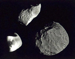 Asteroids - NASA photo