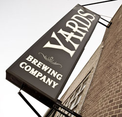 Yards Brewery Sign